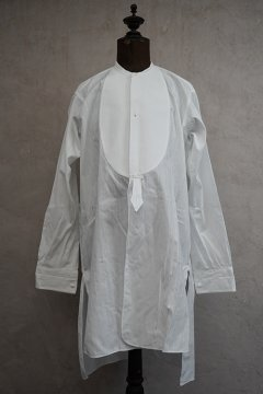~1930's white cotton dress shirt