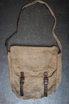 1930's brown cottonshoulder bag