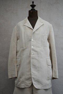 1910's-1930's linen jacket + trousers set