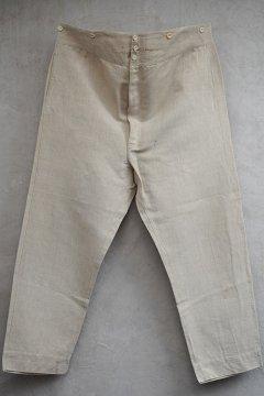 cir. 1910-1930's linen trousers