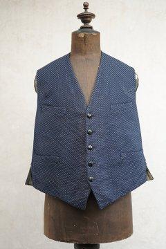 ~1930's navy wool gilet