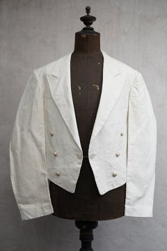 cir.1920-1930's linen spencer jacket dead stock