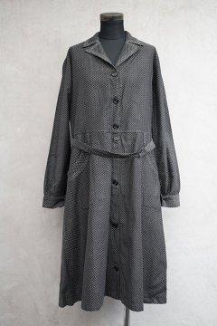 1930's-1940's printed work coat