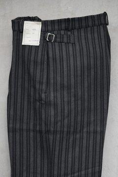 1930's-1940's striped cotton trousers dead stock