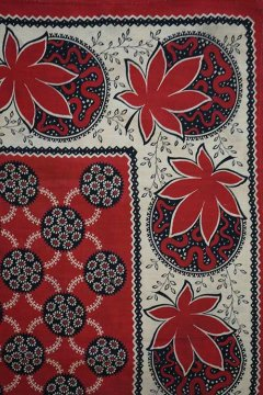 ealry 20th c. printed scarf