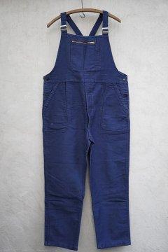 1940's-1950's blue moleskin salopette