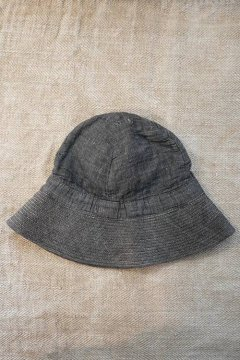 1920's-1940's linen cotton Chambray hat
