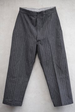 1940's striped cotton work trousers dead stock