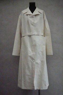 mid 20th c. linen coat military