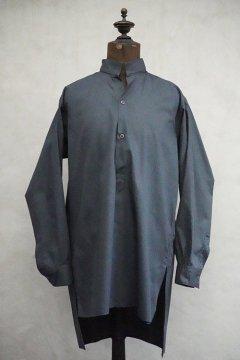 1950's-1960's blue gray cotton shirt dead stock