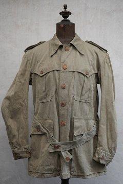 cir.1940's olive cotton jacket dead stock