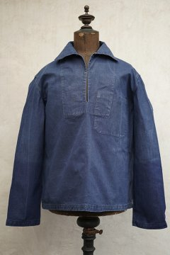 ~1940's linen cotton fisherman top