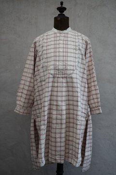 early 20th c.checked cotton shirt