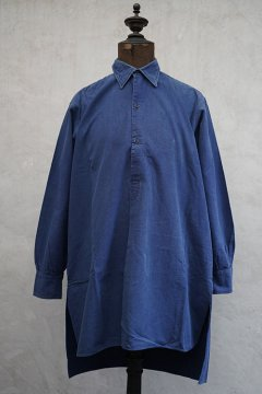 1940's-1950's blue cotton work shirt