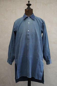 1930's-1940's blue cotton work shirt