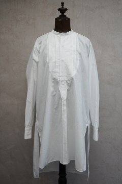 ~1930's white cotton dress shirt dead stock