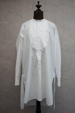 ~1930's white cotton dress shirt dead stock