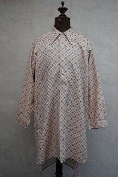 1930's-1940's printed cotton shirt