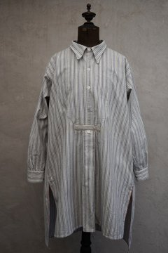 1930's-1940's striped cotton shirt