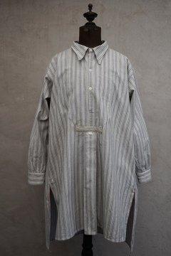 1930's-1940's striped cotton shirt