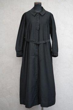 1910's-1930's black work dress