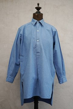 ~1940's indigo chambray shirt dead stock