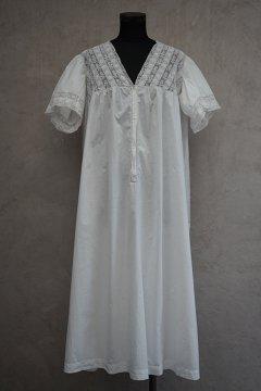 early 20th c. white dress S/SL