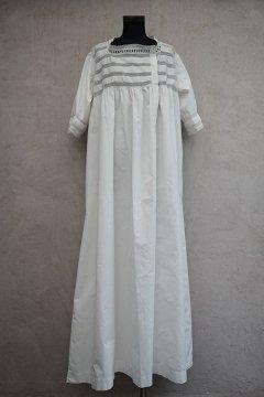 early 20th c. white long dress H/SL