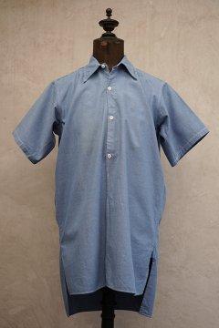 mid 20th c. indigo S/SL shirt