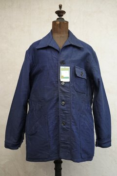 cir.1960's blue moleskin work jacket dead stock