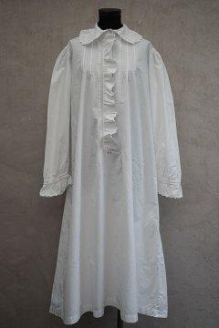 early 20th c. white long dress