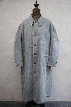 cir.1940's-1950's salt&pepper cotton atelier coat