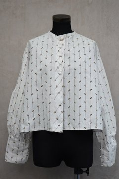 ~early 20th c. printed blouse