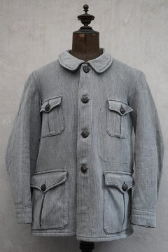 1940's gray pique hunting jacket