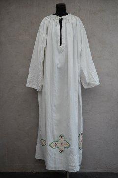 ~mid 20th c. linen church long smock