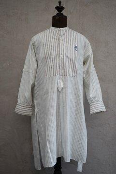 ~1930's striped beige cotton shirt