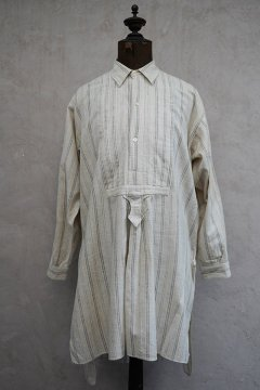 ~1930's striped gray cotton shirt