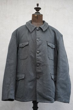 1940's-1950's gray pique hunting jacket dead stock