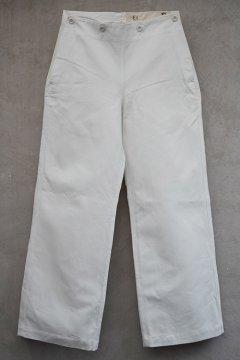1960's cotton sailor pants