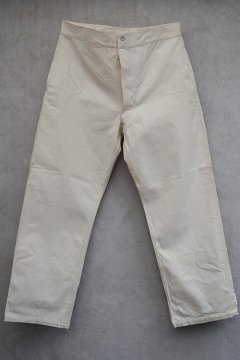 cir.1940's French military cotton work trousers dead stock