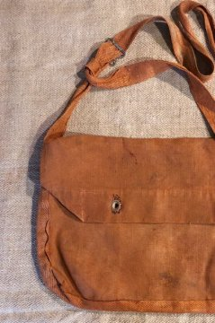 ~1940's French military linen musette