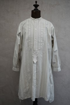 early 20th c. striped cotton shirt