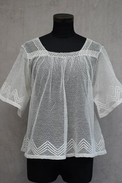 early - mid 20th c. choir boy lace top