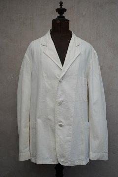 ~1940's white cotton jacket
