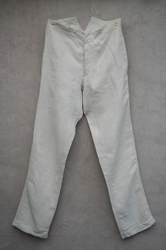 early 20th c. linen trousers