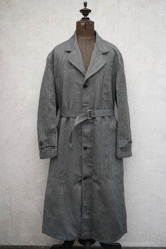 1940's salt&pepper cotton atelier coat dead stock