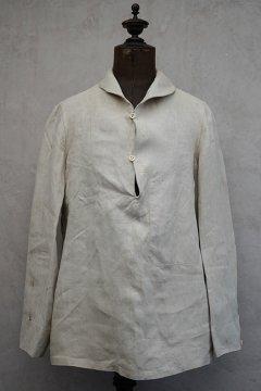 1930's Marine Nationale linen sailor top