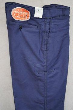 cir.1960's blue moleskin work trousers