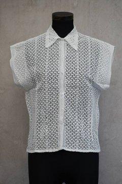 1930's~1950's lace blouse