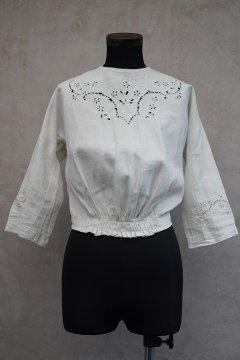 1900's linen cutwork blouse